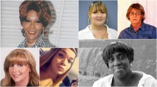 Clockwise from top left: Nizah Morris, Naiymah Sanchez, Dawn Munro, Charlene Arcila, Hazel Edwards, Kathleen Padilla.