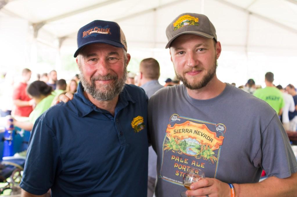Sierra Nevada founder Ken Grossman and son Brian Grossman