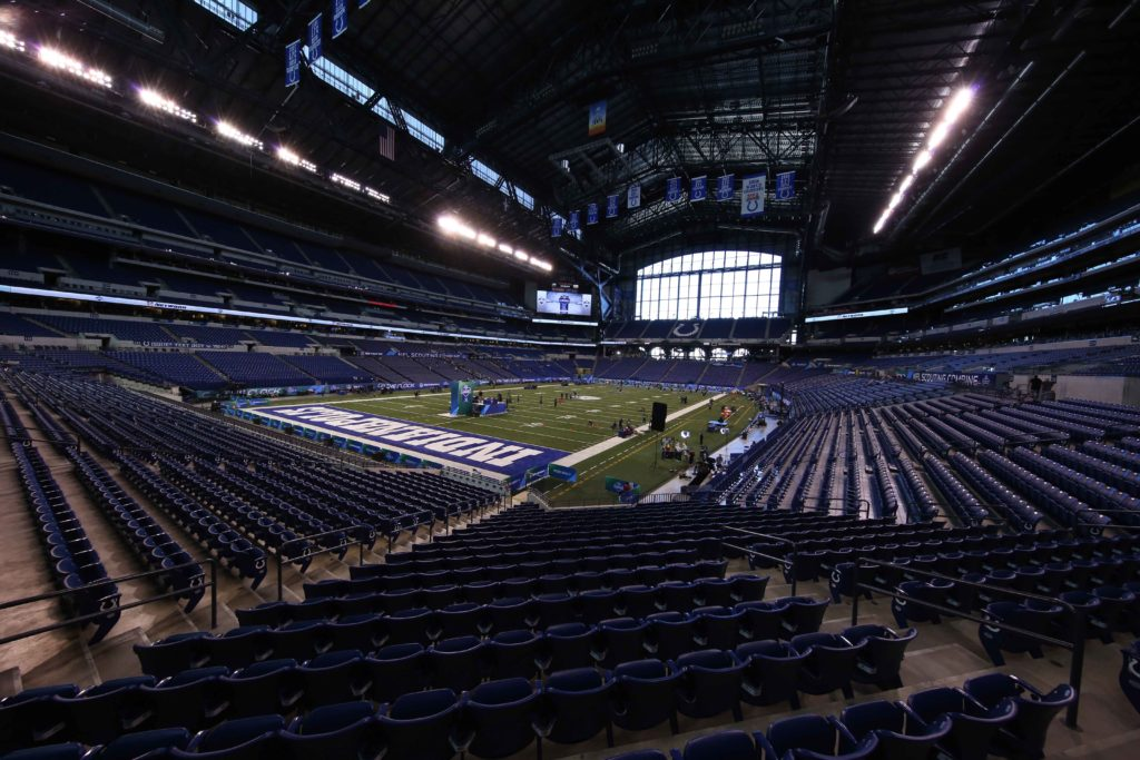 The Combine is in Indy every year. Every year.