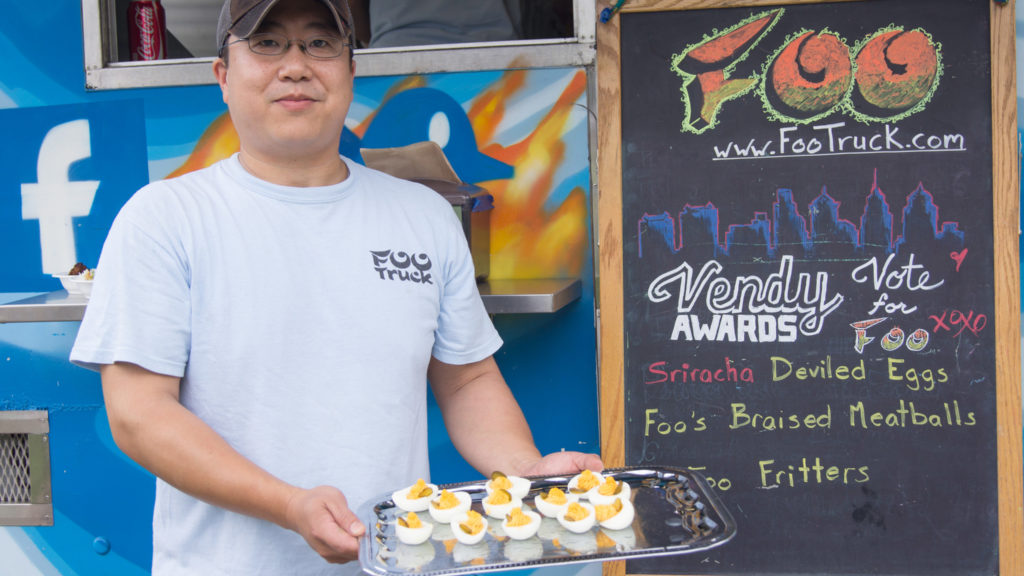 Entrepreneur George Pan, who translated success with his mobile Foo Truck into brick and mortar restaurant Foo Kitchen