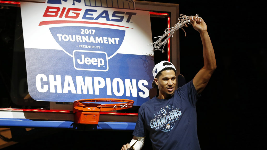 National player of the year candidate Josh Hart hopes to be cutting down another net in Phoenix in a few weeks.
