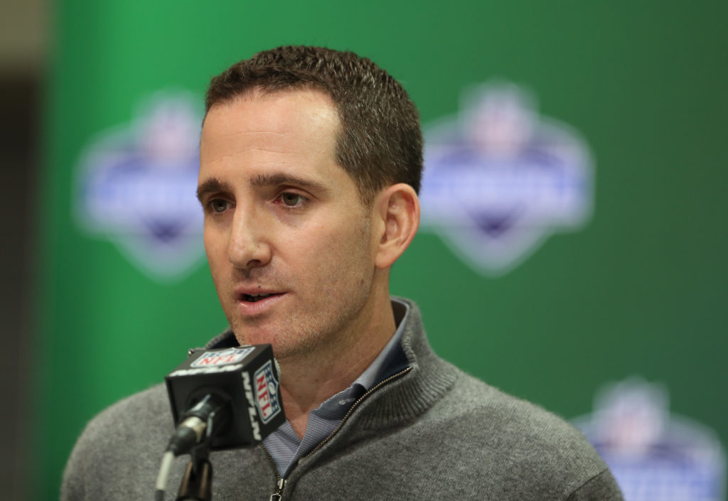 Howie Roseman spoke on Wednesday. He didn't say much.