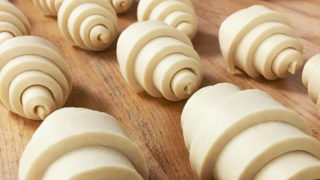 Riddell's croissants awaiting their bake