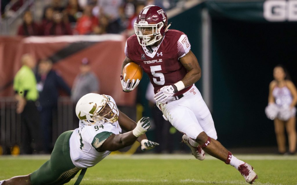 Temple running back Jahad Thomas