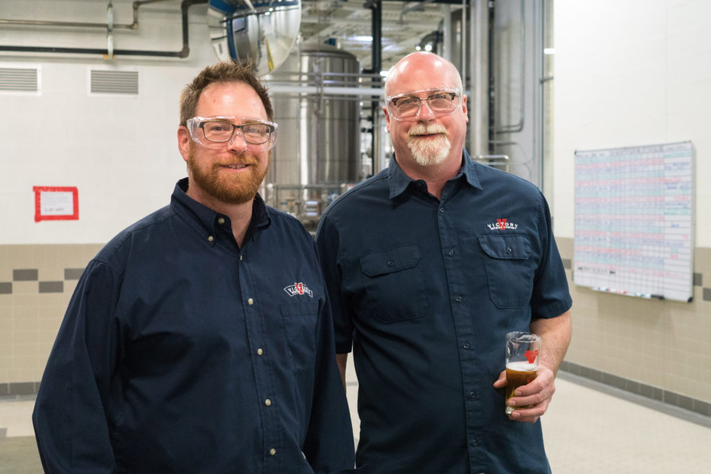 Victory co-founders Bill Covaleski and Ron Barchet
