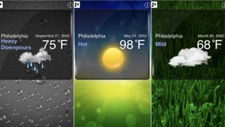 Could Philly weather be like this?