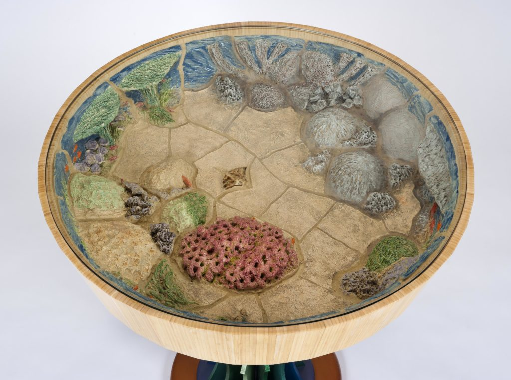 Coral Reef Table by Peter Handler. Photo from Peter Handler Studio. Used with permission.