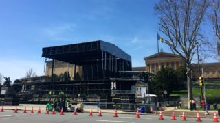 Draft organizers are getting the Benjamin Franklin Parkway.