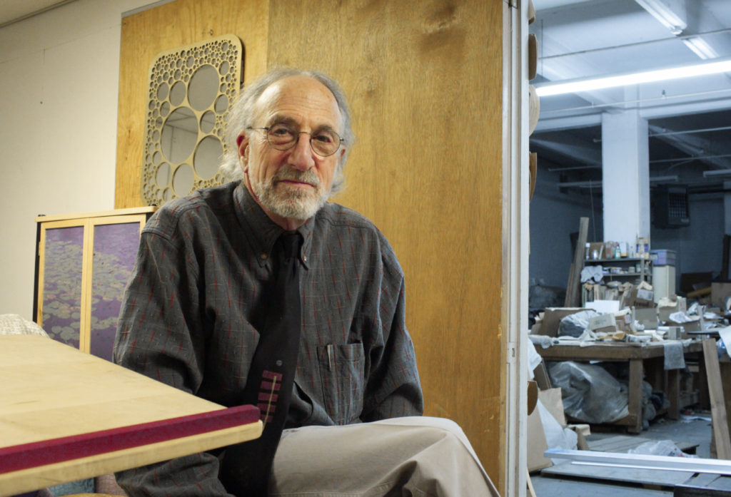 Peter Handler in his studio.