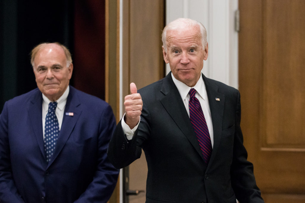 Former VP Joe Biden and former Philly Mayor Ed Rendell