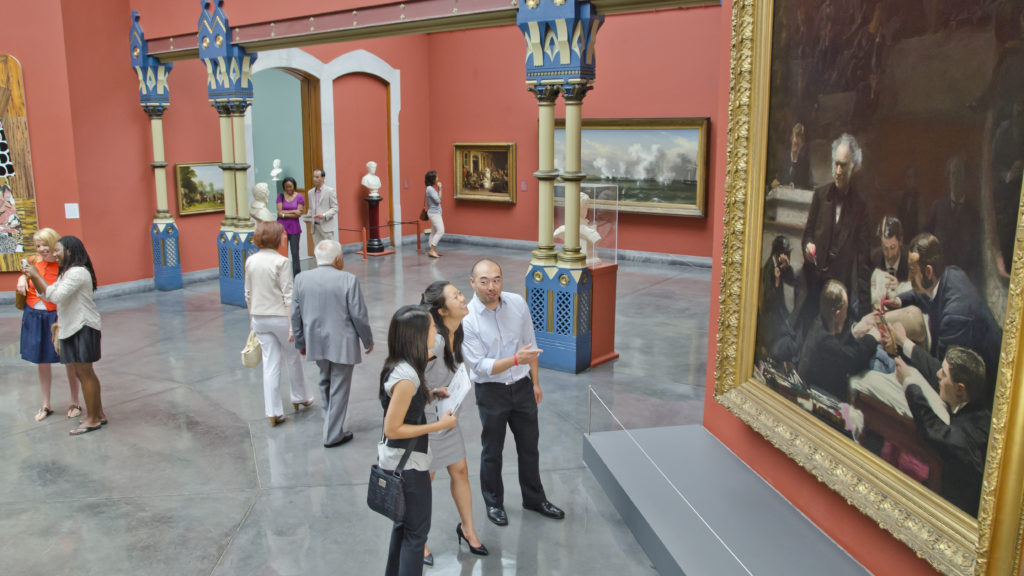 The Pennsylvania Academy of the Fine Arts, founded in 1805 in Philadelphia, is the nation's oldest art museum and school.