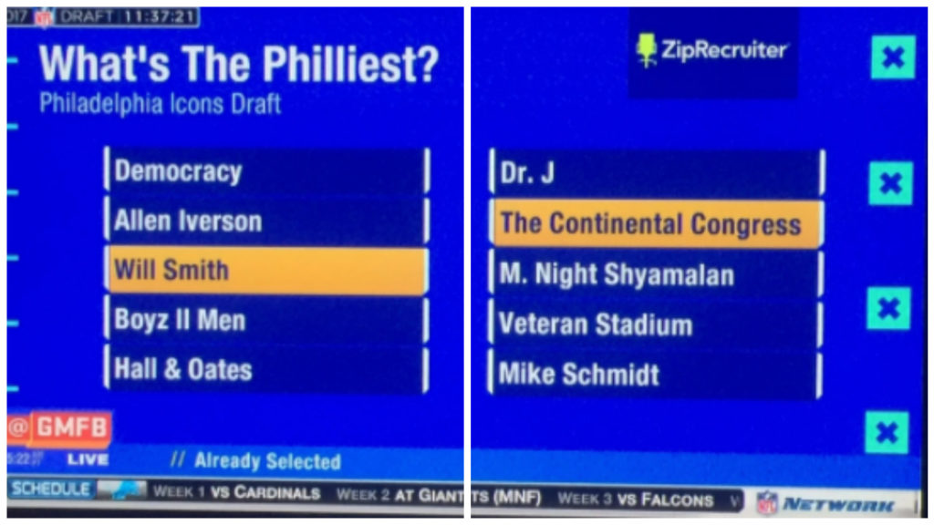 Nfl Asks What S The Philliest Philly Answers Ppa Move Swiss Cheese Pervert On Top Of Philly News