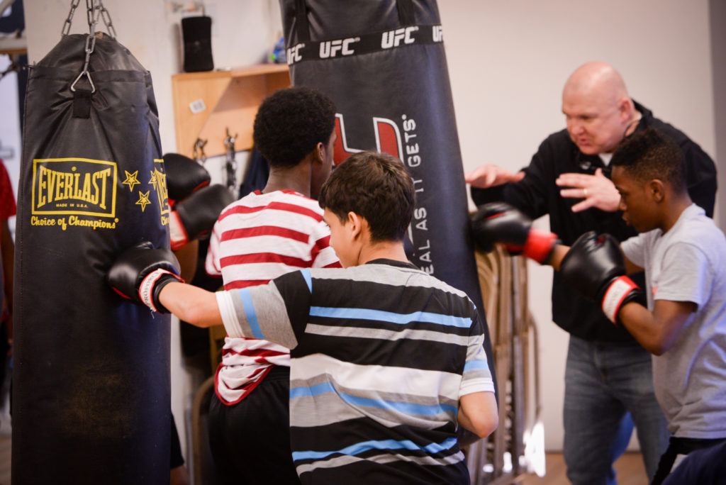 Fists Faith And Rock Ministries Kensington S Boxing
