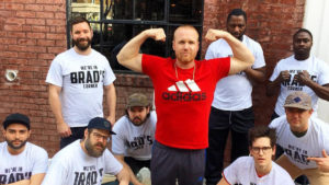 Team Spence is behind chef Brad Spence all the way