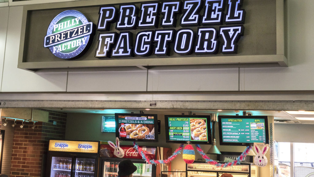 Philly Pretzel Factory at the Frankford Transportation Center