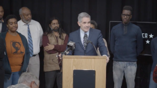 Larry Krasner announces his campaign for district attorney