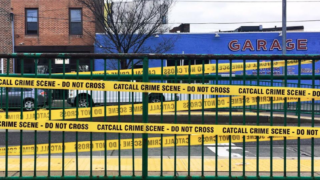 Anti-catcalling crime scene tape went up in Philly earlier this year as part of a public art campaign organized by Pussy Division, a feminist group based in Philly.