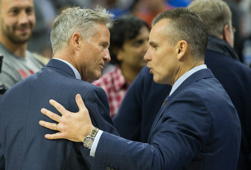 Don't worry Brett, Billy Donovan didn't get any votes either.