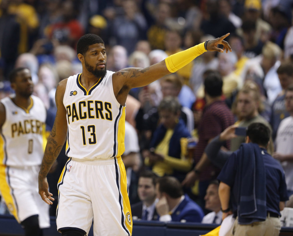 Paul George to the Sixers? Why not.