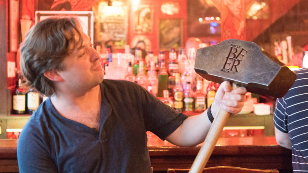 The Philly Beer Week Hammer of Glory