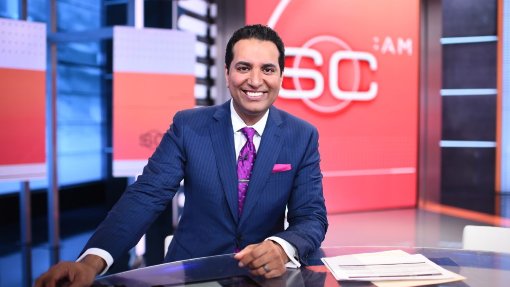 Temple grad Kevin Negandhi is the host of the 2017 Scripps Spelling Bee on ESPN.
