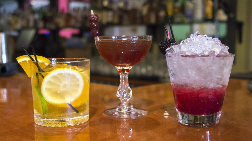 Cocktails at 1 Tippling Place in Rittenhouse