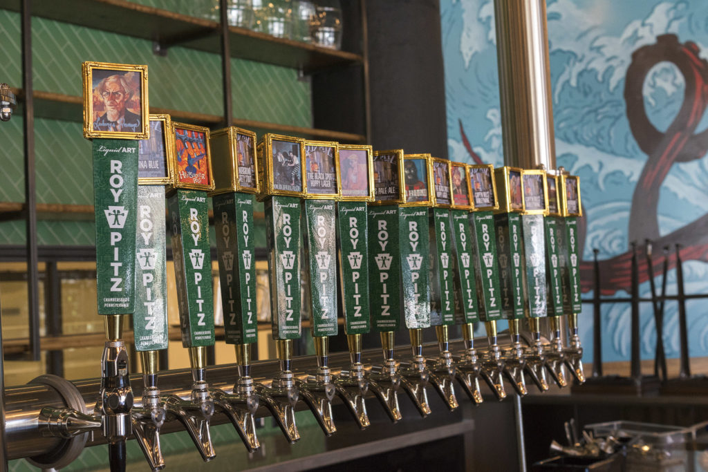 Taps will pour mostly house beer