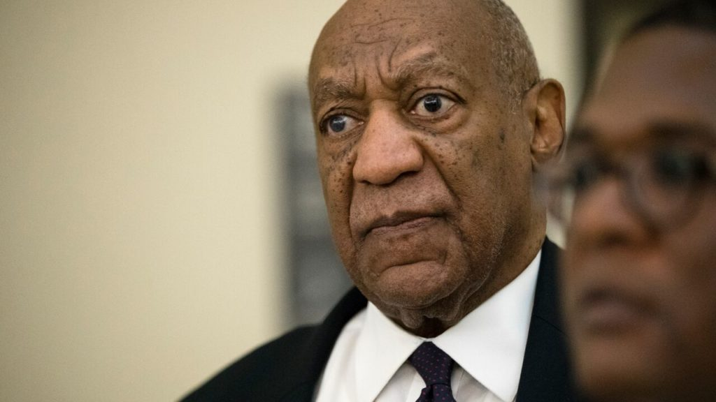 Bill Cosby at the Montgomery County Courthouse on Day 2 of his criminal trial.