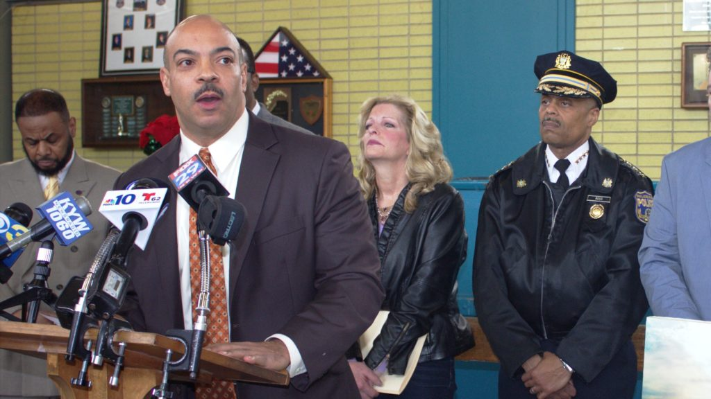 Philadelphia District Attorney Seth Williams appears at a press conference in 2016.