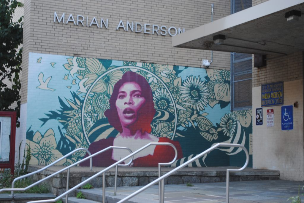 Marian Anderson Recreation Center at 17th and Catharine