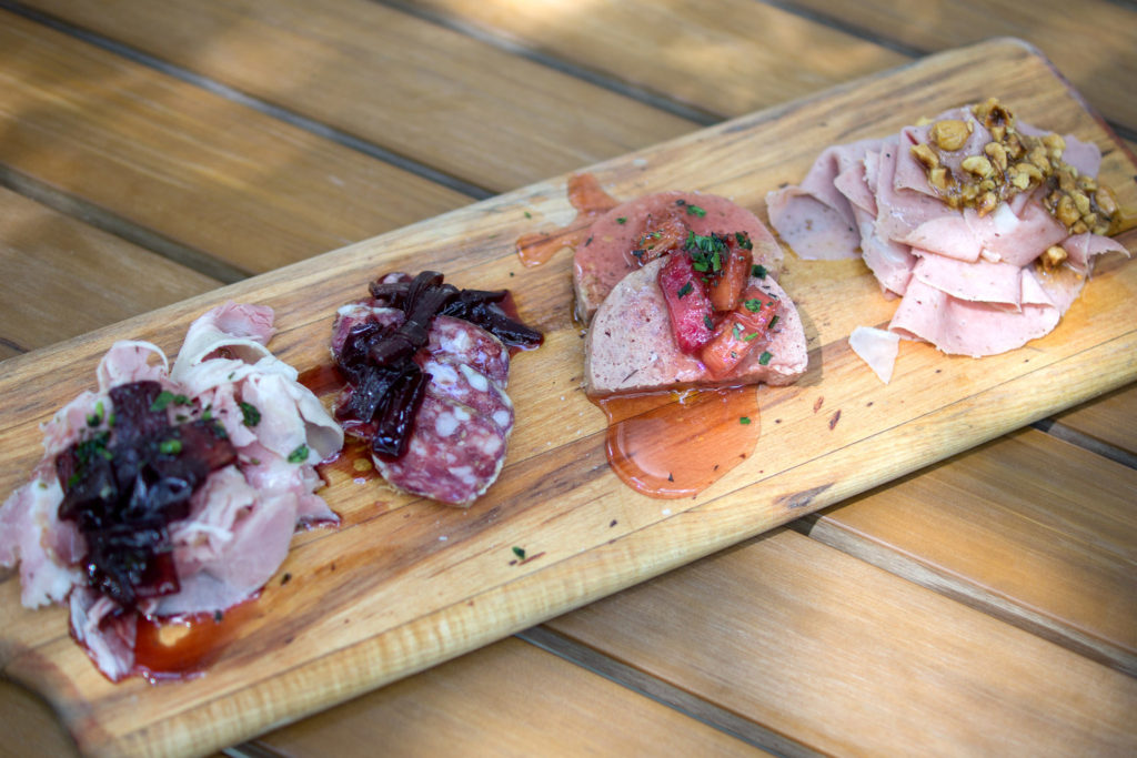 Spence's housemade charcuterie at Amis