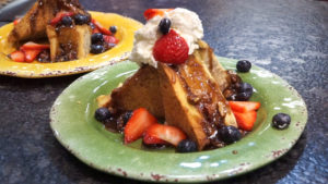 Brioche French Toast Bake at Beck's Cajun Cafe