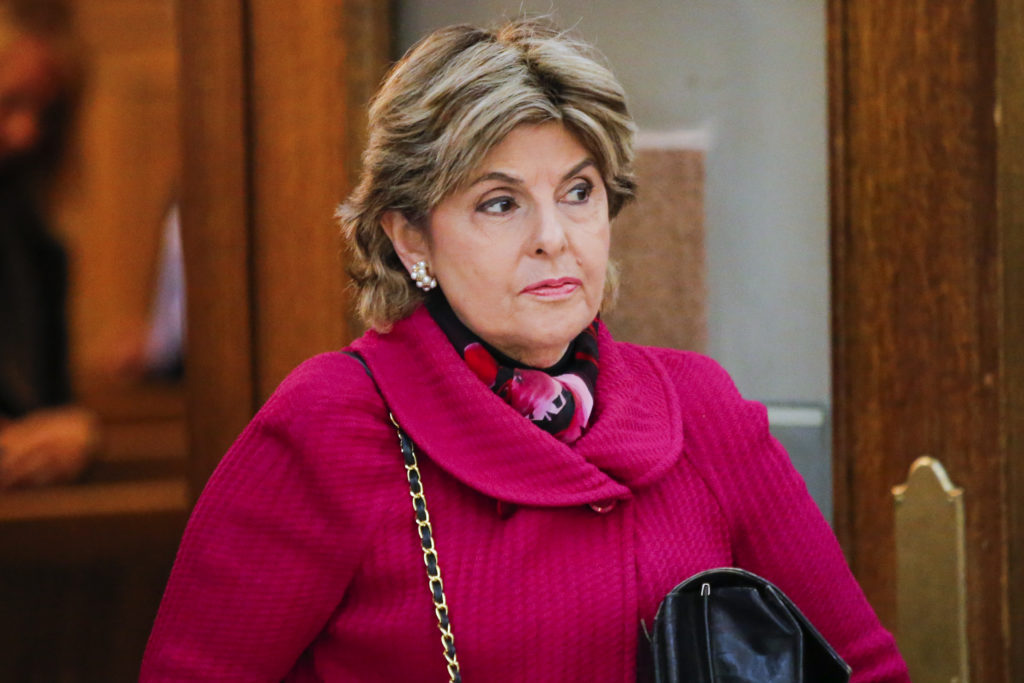 Lawyer Gloria Allred walks out of the courtroom during a break of the Bill Cosby's case at the Montgomery County Courthouse on June 8, 2017 in Norristown, Pennsylvania.