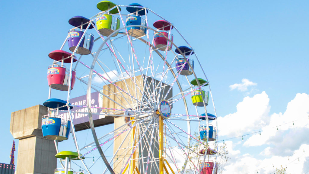 It's the last day for the ferris wheel at Blue Cross RiverRink Summerfest