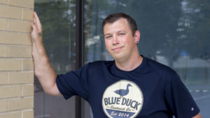 Kris Serviss of The Blue Duck