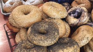 Bagels at The Bagel Place
