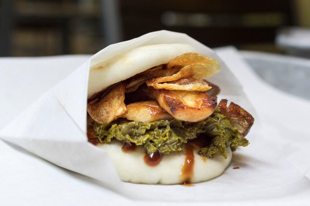 Mushroom gwa bun at Baology