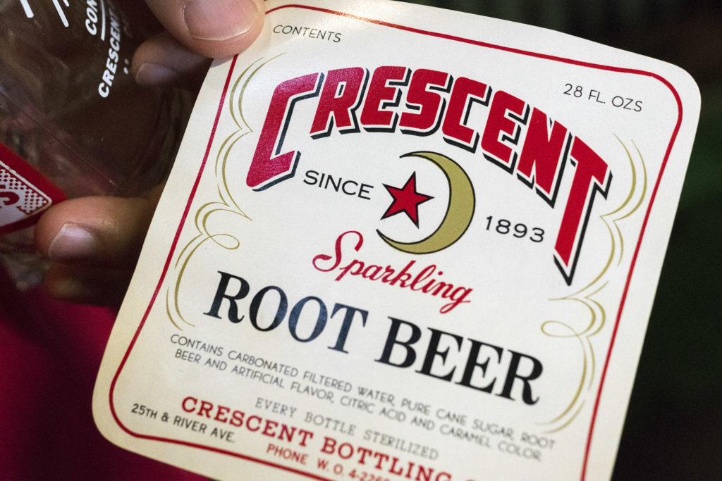 Root beer was one of Crescent's best-sellers