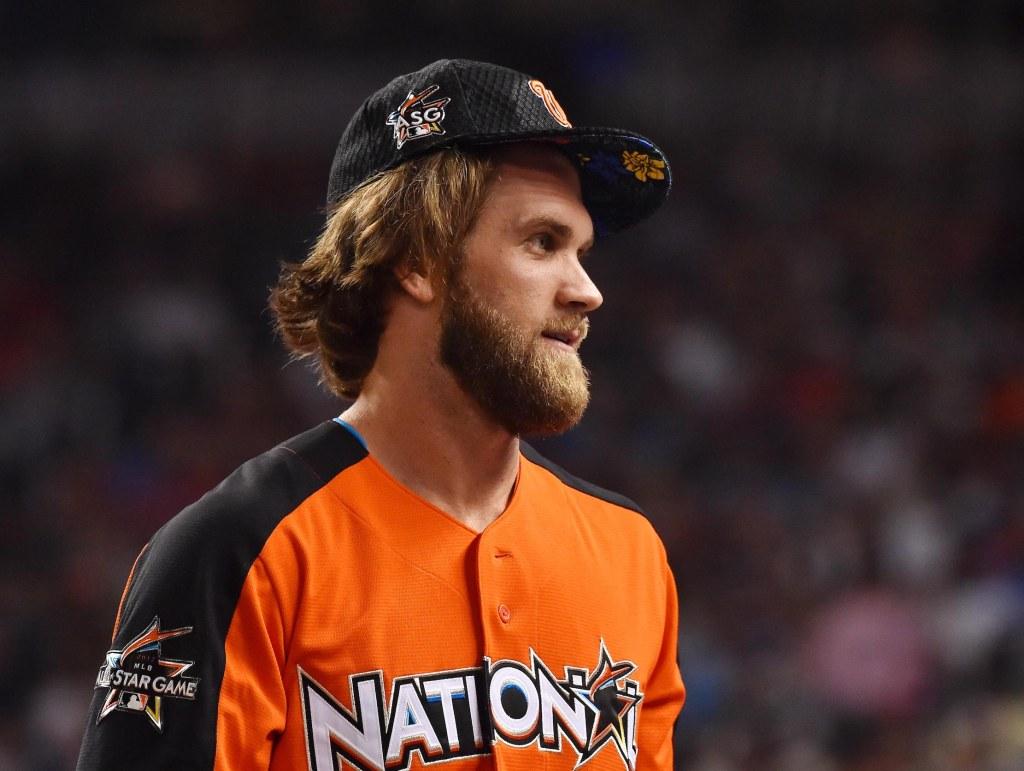 Washington Nationals outfielder Bryce Harper