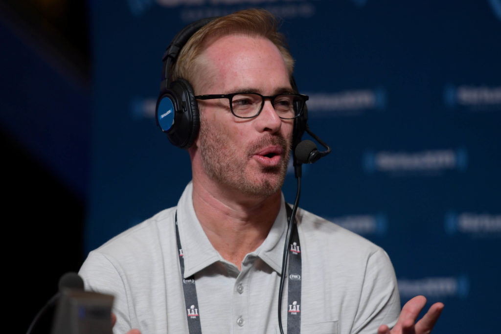 OX Sports commentator Joe Buck