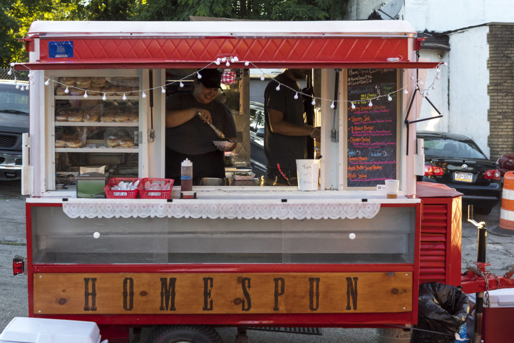 Homespun food truck is a regular at Pentridge