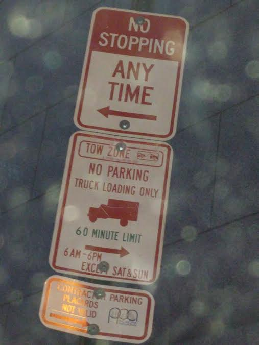 Those parking signs can be tricky.