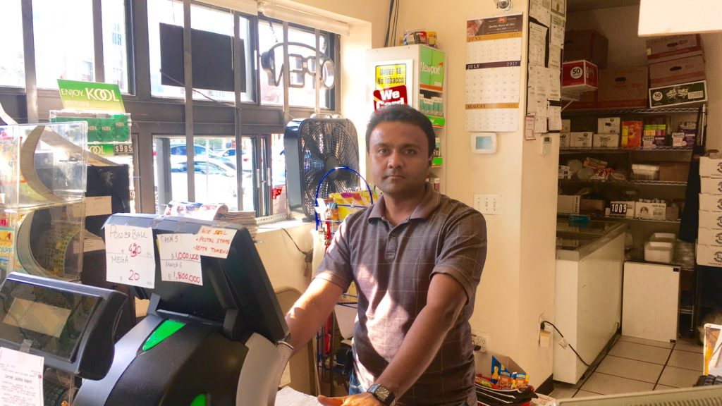 Andrew Patel, manager at Foodpoint Deli & Minimart, said the store orders about one-third as much sugary beverages it did last year.