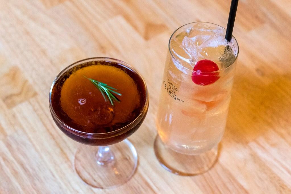 Summer schnapps cocktails