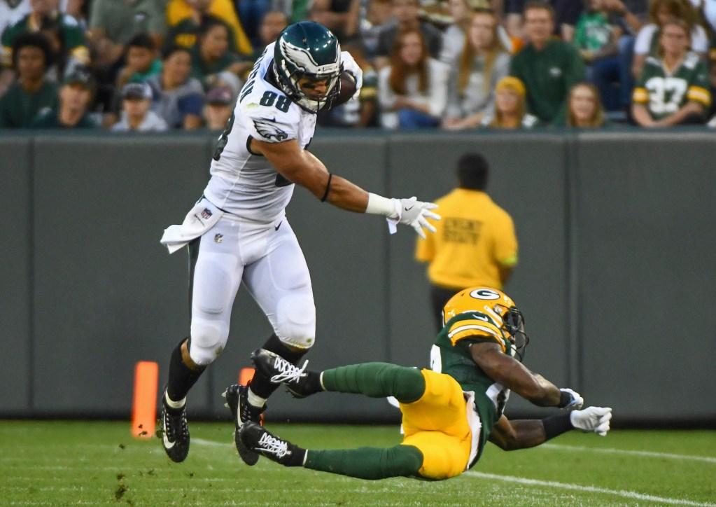 NFL: Philadelphia Eagles at Green Bay Packers