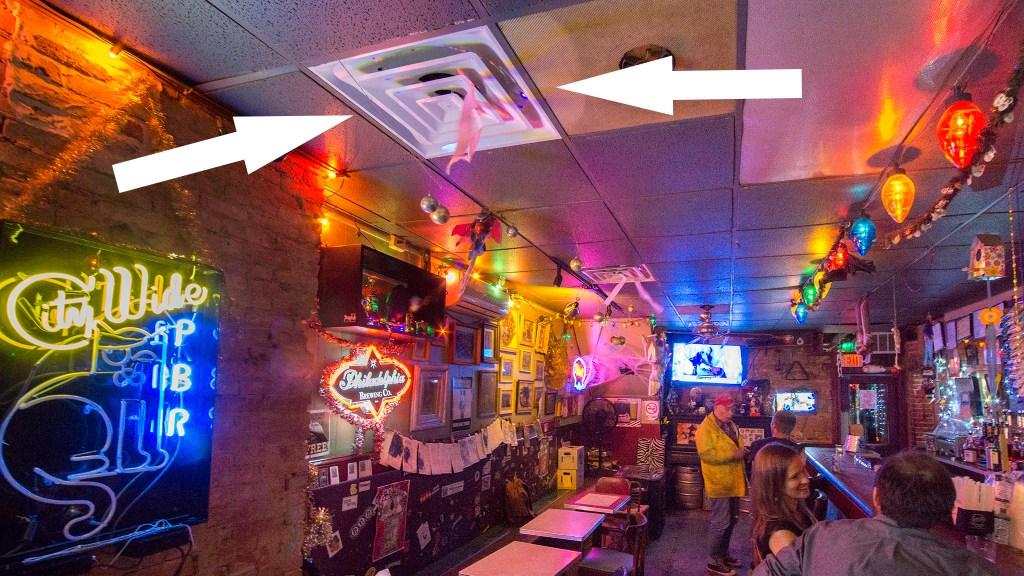 A/C at the El Bar