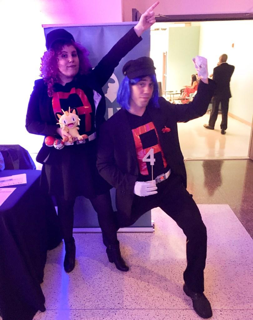 Paulina Gallo and Jedi Weller as Team Rocket
