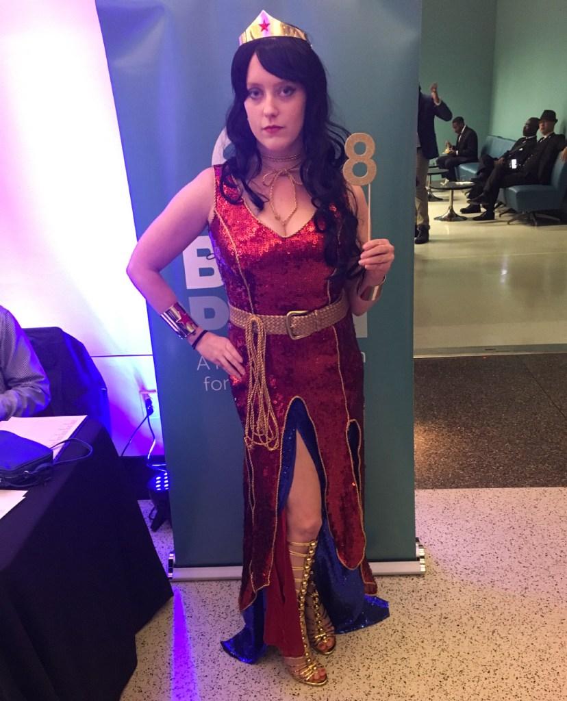 Amber Grohn as Wonder Woman