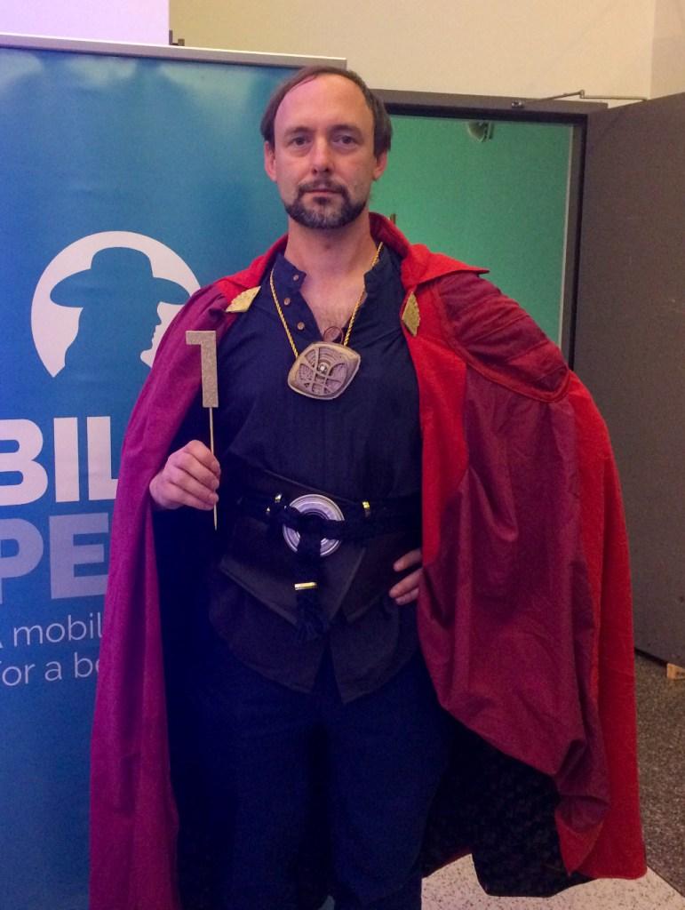 Tim Winkler as Dr. Strange