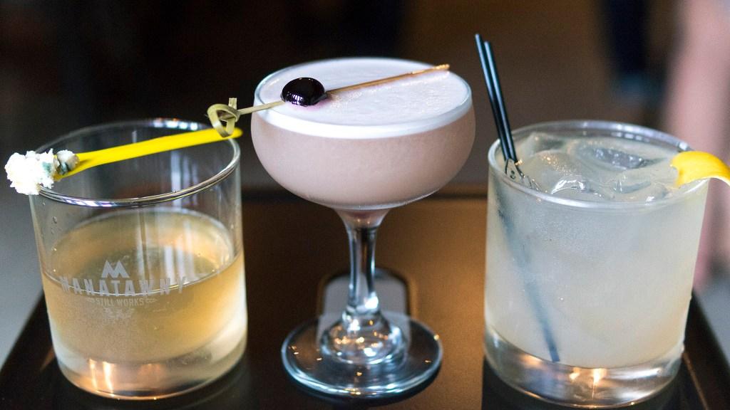 Cocktails at Manatawny's new tasting room